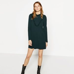 Zara Hunter Green Dress
